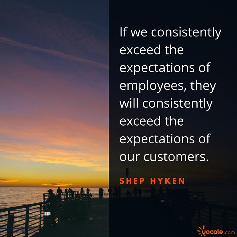 yocale success quote shep hyken