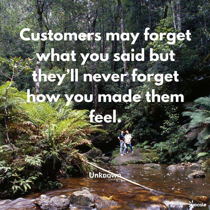 yocale success quote customers