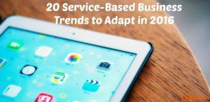 20 service based businesses
