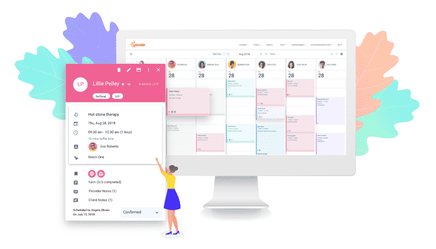 therapy scheduling software