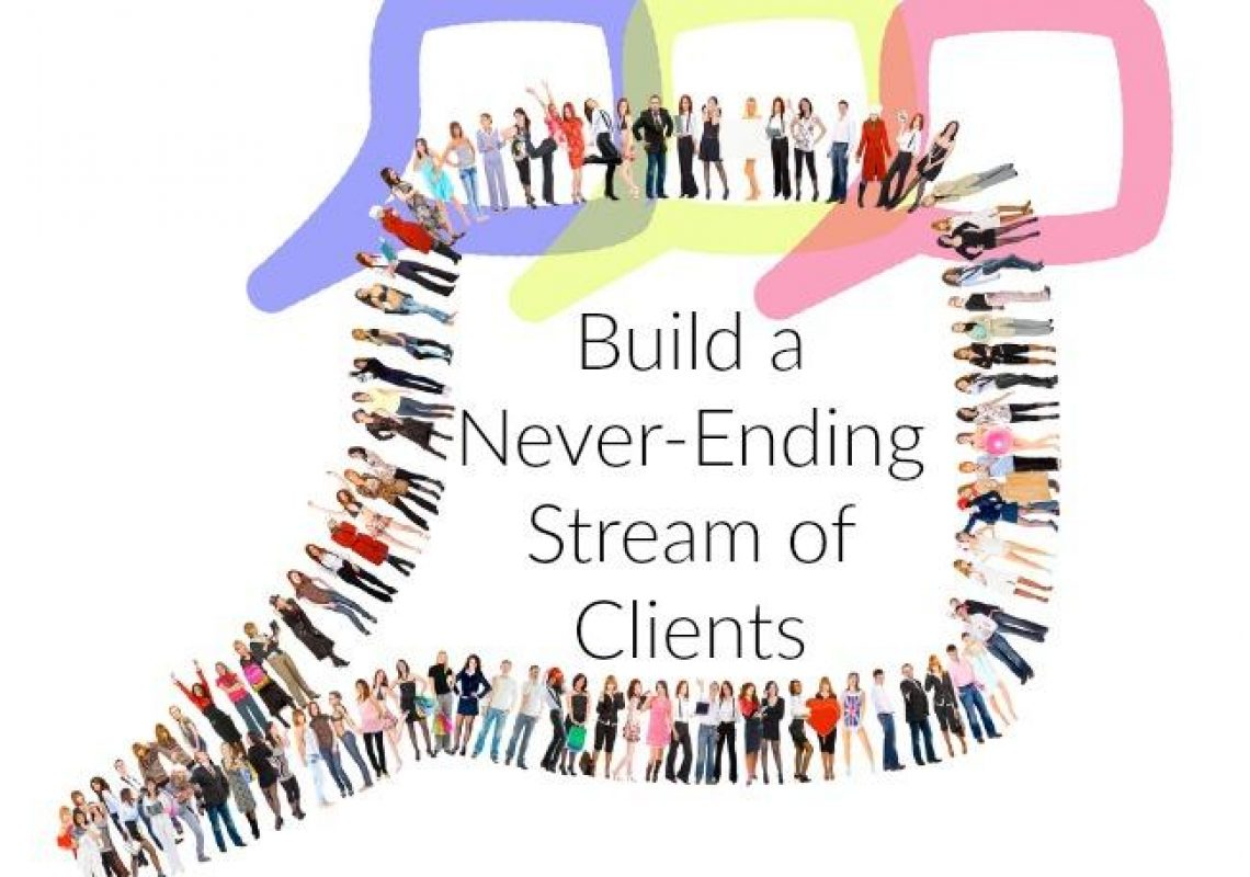 stream of clients